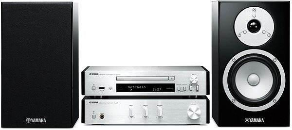 MICRO CADENA YAMAHA MUSICCAST MCR-N670D COMPUESTO POR CD/FM/DAB CON FUNCIONES DE RED.POTENCIA 2x65W.
