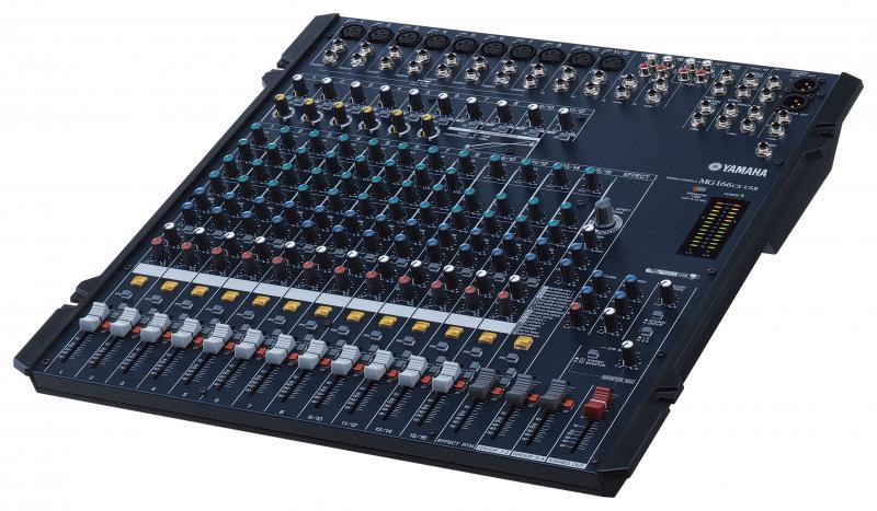 MESA DE MEZCLAS ANALÓGICA YAMAHA MG - Mesa de mezclas analógica YAMAHA MG82CX de 8 canales con Efectos.