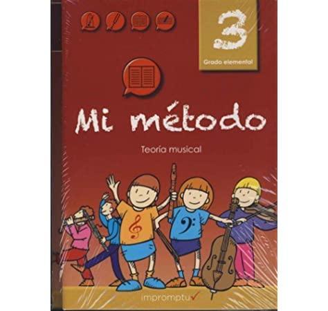 LIBRO MUSICAL MI MÉTODO VOLUMEN 3 + 2 CD RITMO ENTONACIÓN TEORÍA