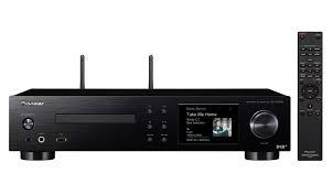 REPRODUCTOR MULTIMEDIA NETWOORK MEDIA PLAYER + CD + AMPLIFICADOR 2x75W PIONEER NC-50DAB-B COLOR NEGR