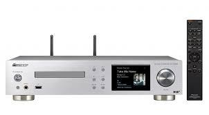 REPRODUCTOR MULTIMEDIA NETWOORK MEDIA PLAYER + CD + AMPLIFICADOR 2x75W PIONEER NC-50DAB-S COLOR PLAT
