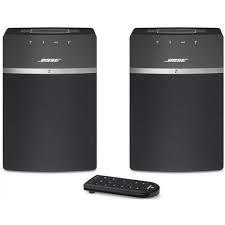 ALTAVOCES AMPLIFICADO MULTIROOM BOSE SOUNTOUCH 10 TWIN WIFI/BLUETOOTH. PACK 2 UNIDADES COLOR NEGRO