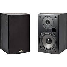 ALTAVOCES DE ESTANTERIA POLK T15 2 VIAS SERIE T COLOR NEGRO - ALTAVOCES DE ESTANTERIA POLK T15 2 VIAS SERIE T COLOR NEGRO