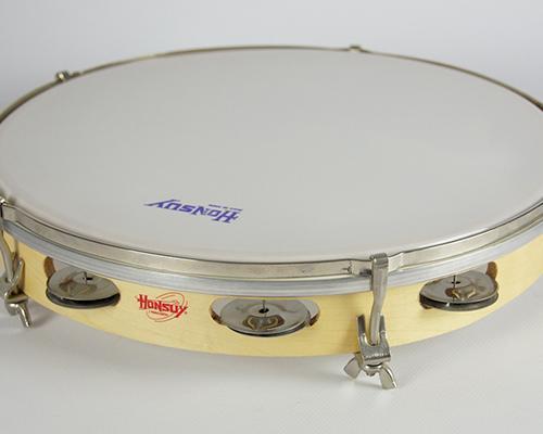 PANDERETA HONSUY 41300. 30 cm. PARCHE PLASTICO - PANDERETA HONSUY 41300. 30 cm. PARCHE PLASTICO