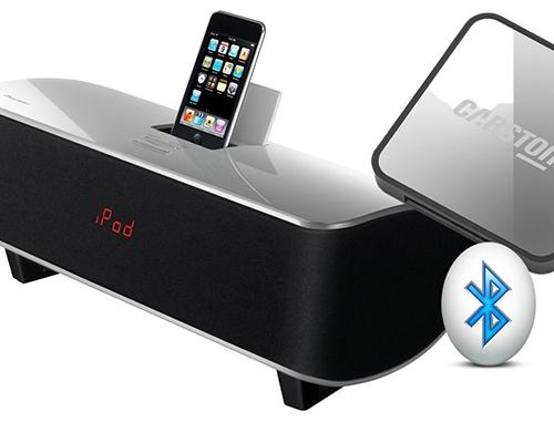 ALTAVOZ PIONEER PARA IPOD COLOR BLANCO + ADAPTADOR BLUETOOH