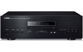 LECTOR DE CD Y SACD YAMAHA CD-S2100 CON USB COLOR NEGRO