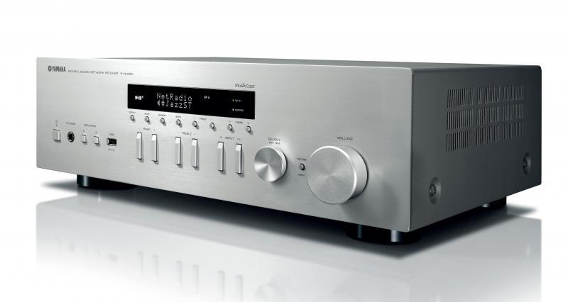 MUSIC CAST R-N402D - Un receptor Hi-Fi de segunda generación con soporte para MusicCast, incluido el sintonizador DAB. Proporciona un sonido de alta calidad y resonancia de fuentes de alta resolución, servicios de transmisión y teléfonos inteligentes como solo un componente de alta fidelidad de Yamaha puede.