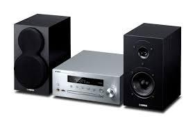 MICRO CADENA YAMAHA MUSICCAST MCR-N470D CON LECTOR CD EN RED. COLOR PLATA-NEGRO