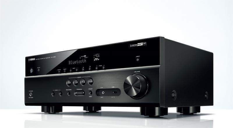 Receptor AV Home Cinema HTR4071-RXV483 - Receptor de AV compatible con MusicCast y el último HDMI para ampliar su disfrute AV.