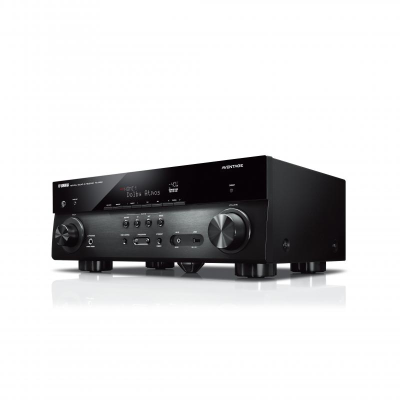 RECEPTOR AV YAMAHA MUSICCAST RX-A680 7.2 CANALES 150Wx7. COLOR NEGRO