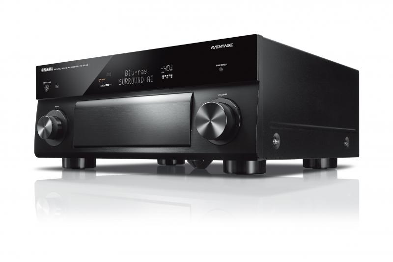 RECEPTOR AV YAMAHA MUSICCAST RX-A2080 7.2 CANALES 170Wx7. COLOR NEGRO