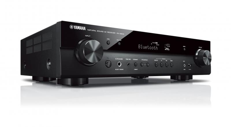 RECEPTOR AV SLIM YAMAHA MUSICCAST RX-S602 5 CANALES 60Wx5. COLOR NEGRO