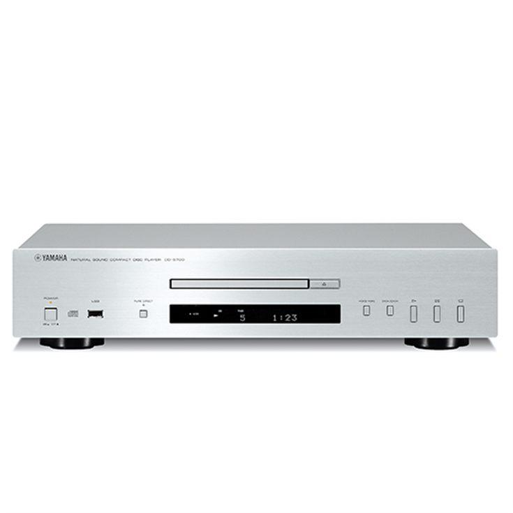 LECTOR DE CD YAMAHA CDS-700 CON USB MP3-WMA COLOR PLATA