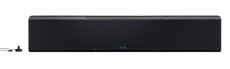 BARRA DE SONIDO YSP-5600 SW. NEGRO - Reproducción de sonido en 3D equivalente a 7.1.2 canales realizados con la exclusiva tecnología del Proyector de sonido digital de Yamaha para que pueda disfrutar de películas y música con un emocionante sonido envolvente 3D.