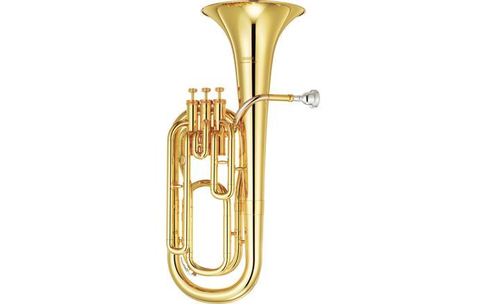 BARÍTONO YAMAHA YBH-301 - El YBH-301 / 301S incorpora un diseño similar al de 621, y comparte muchas de sus características tonales. Fácil de tocar, el 301 presenta una excelente entonación.