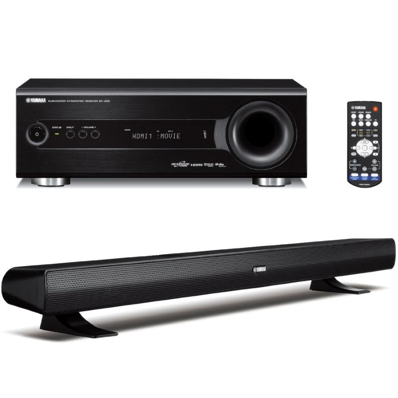 BARRA DE SONIDO YAMAHA FRONTAL SLIM SURROUND CON SUBWOOFER YHT-S400